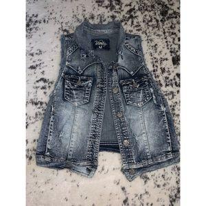 Jackets & Blazers - Vanity Jean Vest
